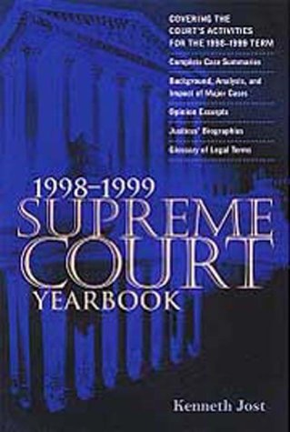9781568024684: Supreme Court Yearbook 1998-1999 Paperback Edition