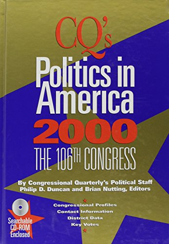 9781568024707: Politics In America 2000 Hardbound Edition (Politics in America (Cloth), 2000)