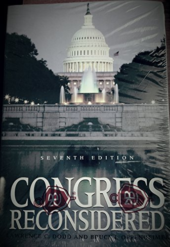 9781568024875: Congress Reconsidered