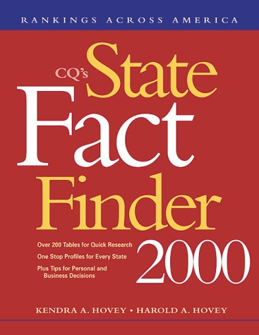 State Fact Finder 2000 Hardbound Edition (State Rankings): Hovey K