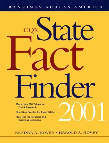 9781568026091: State Fact Finder 2001 Paperback Edition (CQ's State Fact Finder: Rankings Across America)