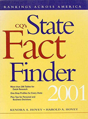 9781568026107: Statistical History of the American Electorate: Rankings Across America (Cq's State Fact Finder)