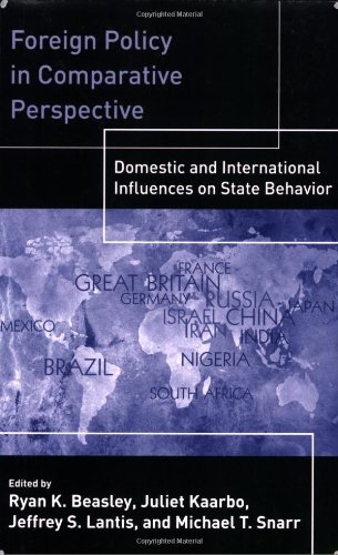 9781568026268: Foreign Policy In Comparative Perspective: Domestic and International Influences On State Behavior
