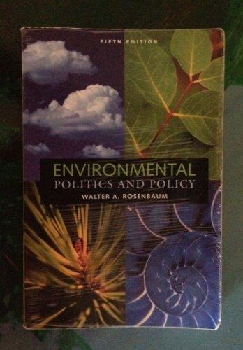 9781568026459: Environmental Politics and Policy