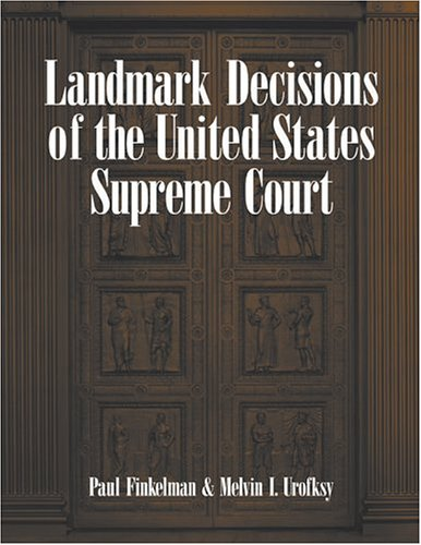 9781568027203: Landmark Decisions of the United States Supreme Court