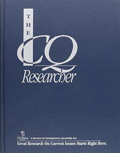 The CQ Researcher Bound Volume 2001: Jost, Kenneth, Masci,