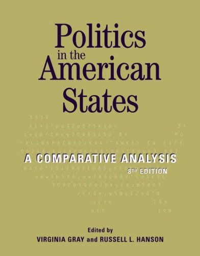 9781568027739: Politics in the American States: A Comparative Analysis