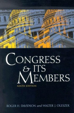 9781568028163: Congress and Its Members