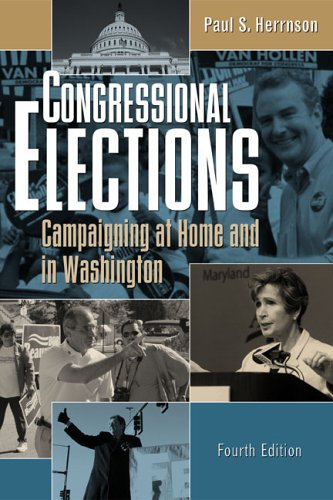 9781568028262: Congressional Elections: Campaigning at Home and in Washington