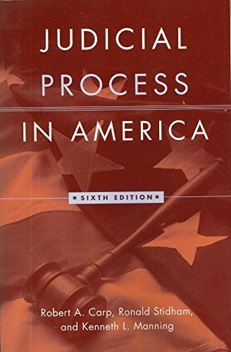 9781568028286: Judicial Process in America