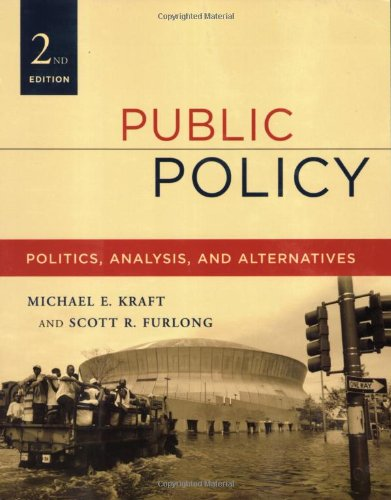 9781568029412: Public Policy: Politics, Analysis, and Alternatives