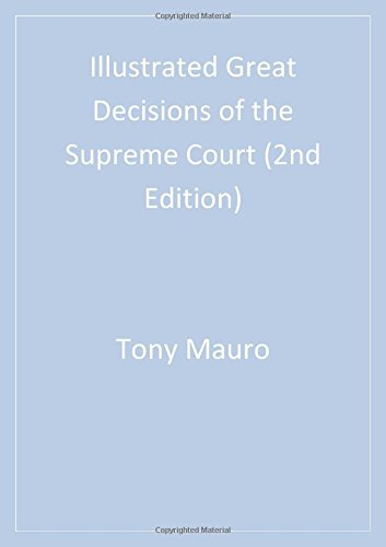 9781568029641: Illustrated Great Decisions Of the Supreme Court, 2nd Edition