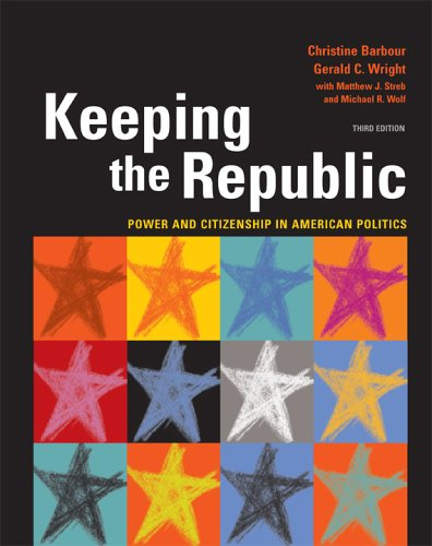 9781568029900: Keeping the Republic: Power And Citizenship in American Politics