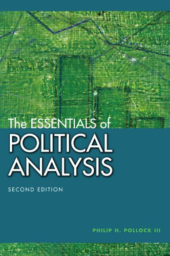 9781568029979: The Essentials of Political Analysis