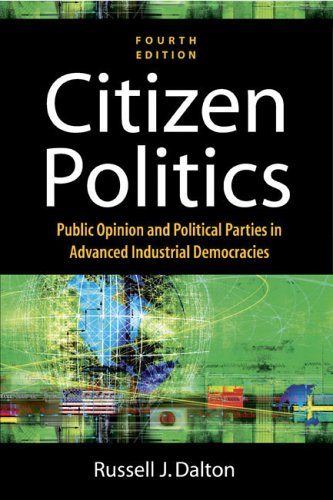 9781568029993: Citizen Politics: Public Opinion And Political Parties In Advanced Industrial Democracies