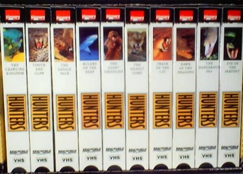 9781568123950: Hunters - Survival In The Wild, 10 VHS By The Discovery Channel