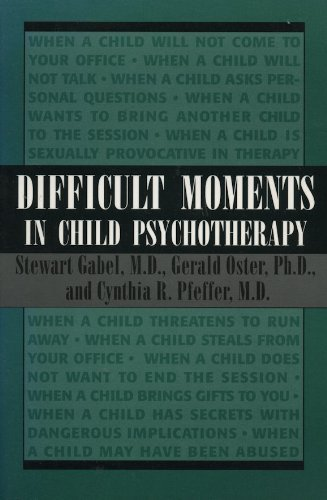9781568210438: Difficult Moments in Child Psychotherapy