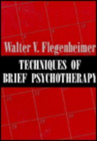9781568210957: Techniques of Brief Psychotherapy