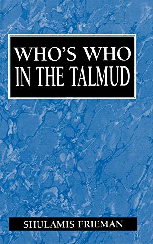 9781568211138: Who's Who in the Talmud