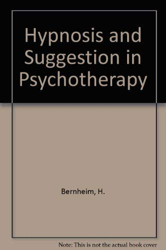 9781568211381: Hypnosis & Suggestion in Psychotherapy