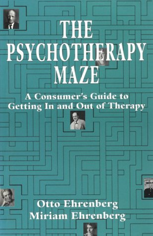 9781568212456: The Psychotherapy Maze: A Consumer's Guide to Getting in and Out of Therapy (The Master Work Series)