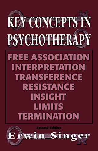 9781568212678: Key Concepts in Psychotherapy (Master Work)
