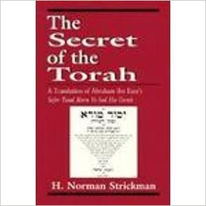 9781568212968: The Secret of the Torah: A Translation of Abraham Ibn Ezra's Sefer Yesod Mora Ve-Sod Ha-Torah