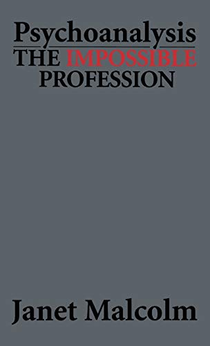 9781568213422: Psychoanalysis: The Impossible Profession (Master Work)