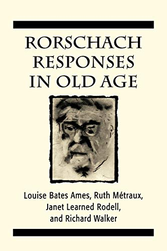 9781568214900: Rorschach Responses in Old Age (The Master Work Series)