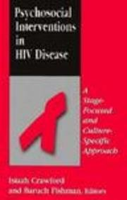 Psychosocial Interventions in HIV Disease: A Stage-Focused and Culture-Specific Approach: Crawford,...