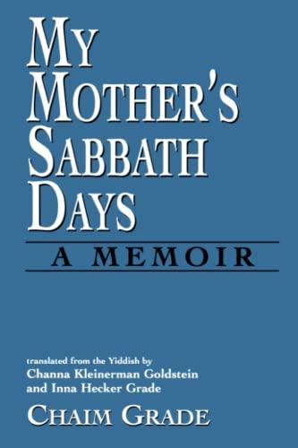 9781568219622: My Mother's Sabbath Days: A Memoir
