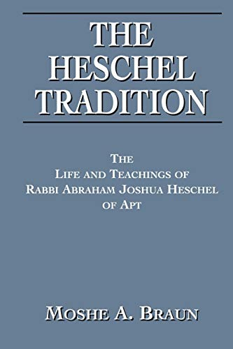 Heschel Tradition: Moshe A. Brown