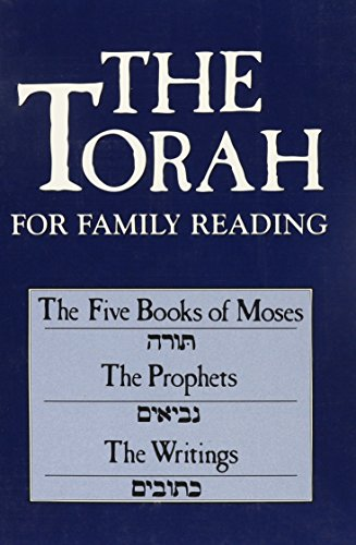 9781568219820: The Torah for Family Reading: The Five Books of Moses, the Prophets, the Writings