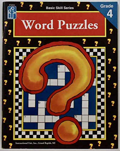 Word Puzzles, Grade 4: Cummings, Renee
