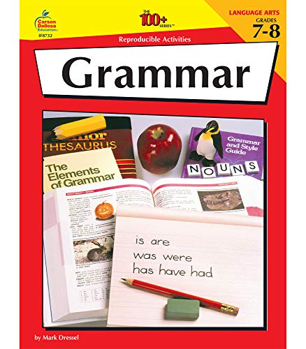 9781568221373: Grammar, Grades 7-8, 100 Reproducible Activities