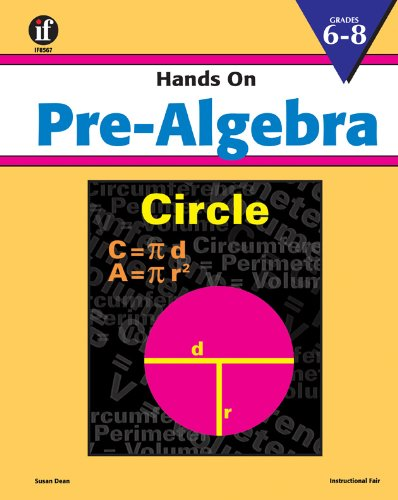 Hands On Pre-Algebra: Dean, Susan