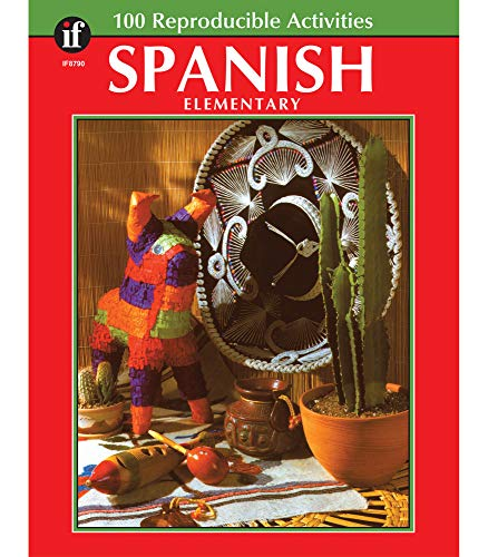 9781568221977: Spanish, : Elementary ( 100 Reproducible Activities)
