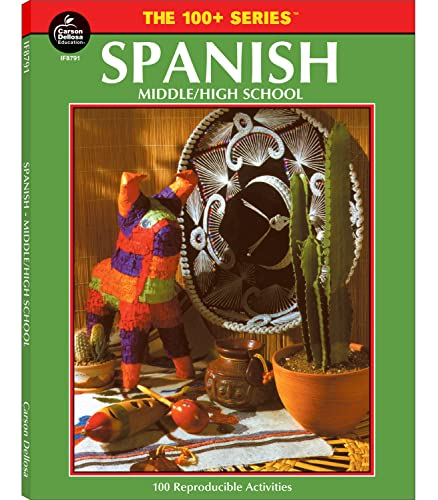9781568221984: Spanish, Grades 6 - 12: Middle / High School (The 100+ Series™)