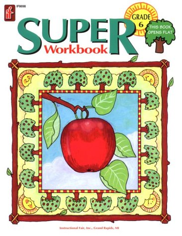 9781568222172: Super Workbook - Grade 6