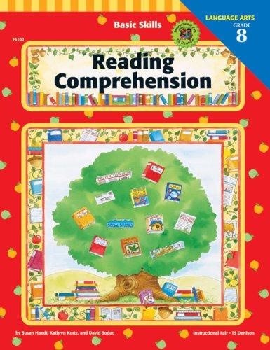 9781568222547: Reading Comprehension, Grade 8 (Basic Skills Series)