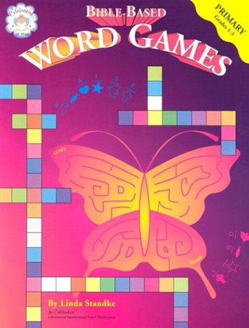 9781568223193: Bible-Based Word Games, Primary