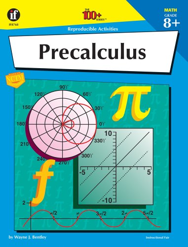 9781568224886: Precalculus, Grade 8+ (The 100+ Series)