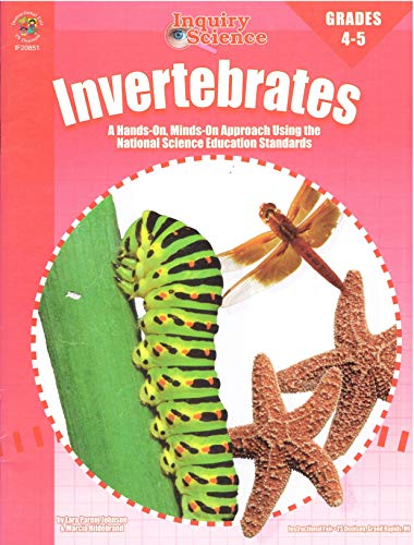 9781568226804: Invertebrates: Grades 4-5: A Hands-On, Minds-On Approach (Inquiry Science Series)