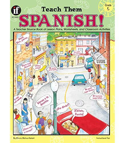 9781568226828: Teach Them Spanish! Grade 5