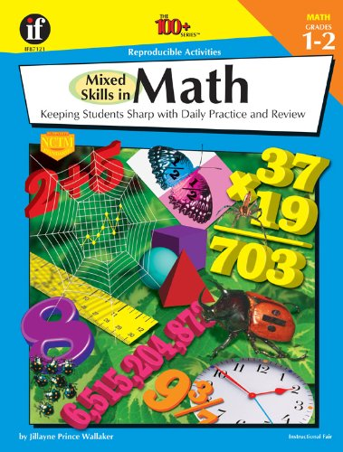 9781568228587: The 100+ Series Mixed Skills in Math, Grades 1-2: Keeping Students Sharp With Daily Practice and Review
