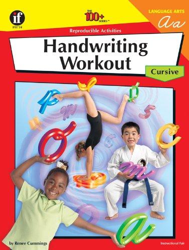 9781568229072: The 100+ Series Handwriting Workout: Cursive