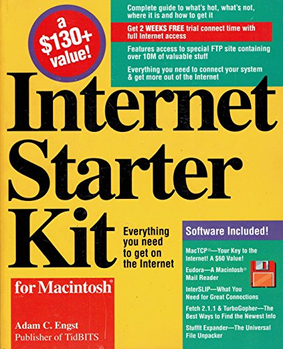 9781568300641: Internet Starter Kit for Macintosh/Book and Disk
