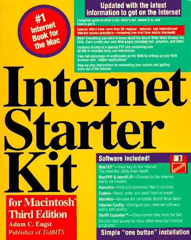 9781568301976: Internet Starter Kit for Macintosh/Book and Disk