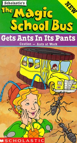 9781568327433: The Magic School Bus - Gets Ants in its Pants [VHS]