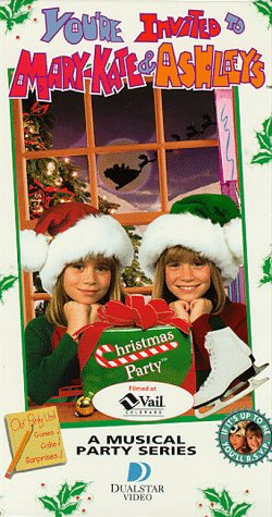 9781568327631: You're Invited to Mary-Kate & Ashley's Christmas Party [VHS]